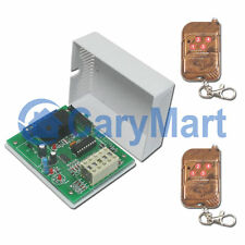 2-Channel RF Remote Time Delay Switch for Home/Agricultural 10A DC 0~28V Gadget