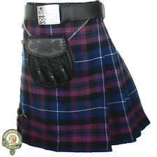 Mens Kilt, 5 Yard Scottish Kilts, Pride of Scotland Tartan Kilt Casual Kilts NEW