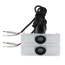 2 X LED Car door Led Welcome laser projector Logo Ghost Shadow Light for TOYOTA