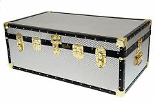 British Mossman Made Traditional Boarding School Steamer & Storer Luggage Trunks