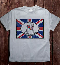 Mens S-2XL Bulldog Breed Made In England 80s Skinhead T-Shirt Casuals Ska Oi