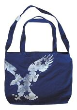 ONE BRAND NEW AMERICAN EAGLE NAVY BLUE TOTE BAG BNWT