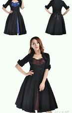 Rockabilly 50s Button Party Pin Up Evening Retro Swing Formal Evening Dress N70