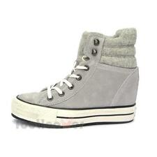 Shoes Converse CT As Hi Platform Plus Collar 544849C Suede/Felt Lucky Stone Heel