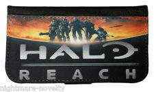 HALO REACH SAMSUNG GALAXY & iPHONE CELL PHONE FLIP CASE LEATHER COVER WALLET