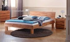 Bed frame solid wood core with beech headboard double bed futon bed frame