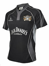 Phuket Pirates Rugby Shirt sponsored by Jack Daniels Black  S-XXXXL 2014/2015