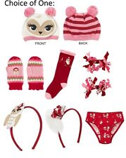 NWT Gymboree Cozy Owl knee socks, clip, headband, panty or curlies 3T 4T 5T 6 7