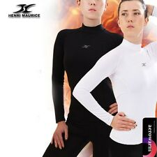 Womens Winter Nano Nappping Compression Sports Thermal warm shirts Long NLW