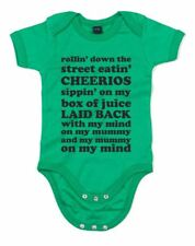 Mind on my Mummy, Mummy on my mind!, Printed Baby Grow