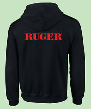 Hooded Zipper Sweat, Fire Arms,  Political, 2nd Amendment, Gun Control, Ruger