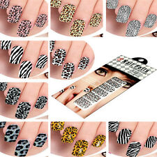 Free Ship 12 Style Nail Sticker Foils Design Decoration Decals Patch Armour