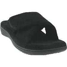 Ladies Orthaheel Relax BLACK Slipper NEW