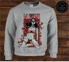 La Muerte #1 Sweater Top | Halloween Womens Mens Costume Spooky Fancy Dress Fun