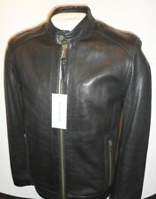 Mens' Andrew Marc Black Leather Jacket New Arrival