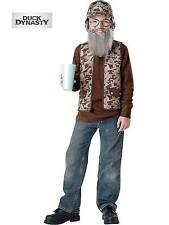 Duck Dynasty Uncle Si Costume for Kids