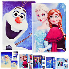 Frozen Cartoon Leather Pu Wallet Stand Holder Case Cover For Apple iPad Mini 1&2