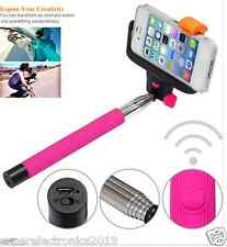 Extendable mobile phone Wireless Bluetooth Monopod for Selfies