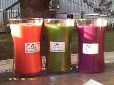 WOODWICK CANDLES IN VARIOUS FRAGRANCES, 22 OZ