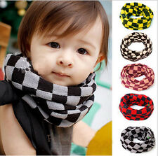 For winter Baby Child Girls Scarf  Jersey Circle Infinity Knitting Wool Scarf