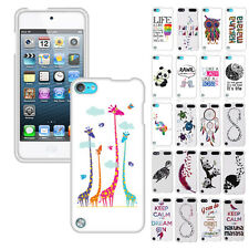 For Apple iPod Touch 5 5th Generation Design Snap ON Hard Case Cover