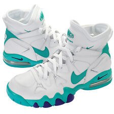 Mens Nike Air max 2 Strong Classic Sneakers New, White Teal 555104-100 Barkley