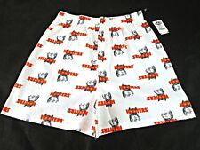 Hooters Apparel Limited Edition Hooters Owl 100% Cotton Mens Boxer Shorts White