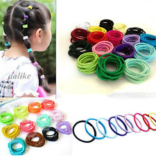 10/20/50 Girls Elastic Hair Band Ropes Rings Ties Ponytail Holders Accessories