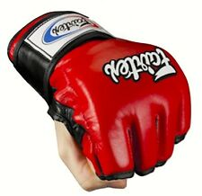 Fairtex MMA Gloves Ultimate Combat Gloves (FGV12) LEATHER-RED (GLORY,KICKBOXING)