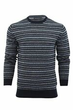 Mens Jumper French Connection FCUK Pheasan Fairisle Crew Neck Lambswool Rich
