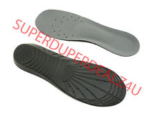 NEW BLACK Orthotic Arch Support Insoles Plantar Fasciitis Heel Pain Relief