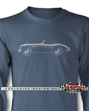Austin Healey 3000 MKIII Roadster Long Sleeves T-Shirt - Multiple Colors & Sizes