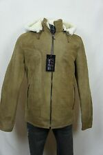Men 100% Shearling Leather Sheepskin Bomber Flight Aviator B3 Jacket Coat XS-6XL
