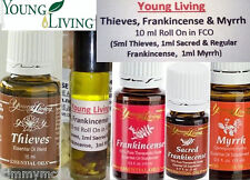 Young Living Essential Oils THIEVES Oil Roll on w/Sacred Frankincense & Myrrh