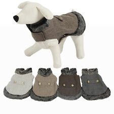Dog Winter Warm Coat Wool Jacket Puppy Clothes Pet Clothing Cat Apparel Costume