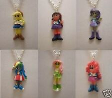 "My Little Pony Equestria Girls Pendant With 18"" Silver Plated Necklace"