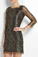 Stunning NWT $468 DVF Zarita Lace Dress, Size 4, Authentic!