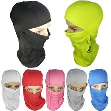 One Hole Ninja Balaclava Hat Full Face Mask Neck Warmer For Cycling Skiing