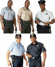 Rothco Short Sleeve Law Enforcement Police Security Uniform Shirt