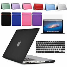 """Rubberized Hard Matte Sleeve Cover Case For Mac Book Air 11 13 Pro 13 13"""" Retina"""