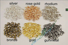 100pcs 12MM Plated Jewelry Necklace Lobster Clasp Claw Buckle Hook Finding
