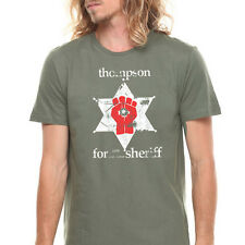 HUNTER S THOMPSON SHERIFF marijuana legalize medical colorado gonzo cool T-Shirt