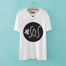 5 Seconds of Summer Rock Music Band Tee T-Shirts Unisex Mens Womens 5SOS Shirt