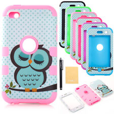 Impact Hard & Soft Silicon Hybrid Case for Apple iPhone iPod Sleeping Cute Owl
