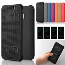 Ultra Slim Dot View Flip Smart Case Cover for HTC One 2 M8 Latest 2014 Fashion