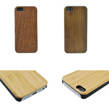 Hot sale 100% Genuine Real Wood+PC Bamboo Back Case Cover for iPhone / Samsung