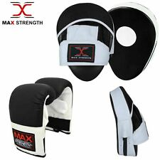 Authentic Hand Wraps Bandages Fist Boxing Inner Gloves Mitts MMA Cotton Pair