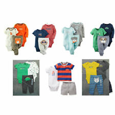 Original Carter's Clothing Set Baby Boys Bebe Infantil Baby Bodysuits Rompers
