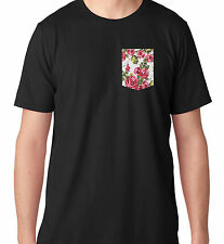New Custom Unisex Tee T Shirt w/ Rose Garden Floral Spring Apparel Unisex Dope
