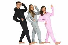 100% COTTON LUXURY UNISEX ONESIE ONE PIECE PYJAMAS WITH THUMB HOLES + EXTRAS!!